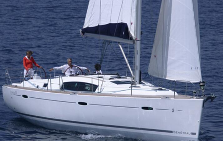 Alquiler de veleros ibiza Oceanis 43