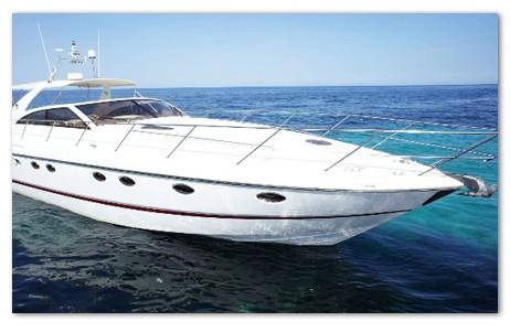 alquiler barco ibiza PRINCESS V55