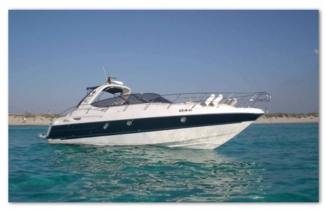 alquiler barco ibiza cranchi 41