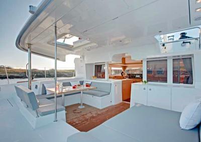exterior de catamaran