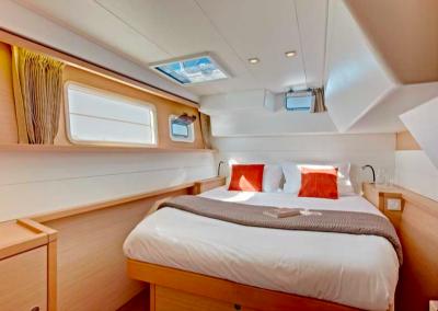 camarote interior de barco