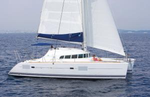 alquiler de catamaranes en Ibiza Lagoon 410 -8.41
