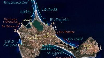 Playas de Formentera | Reserva de boyas