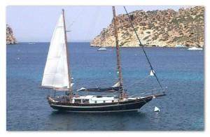formosa 41 alquiler veleros ibiza day charter