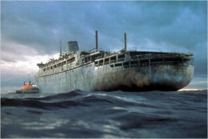ghost ship barco fantasma.