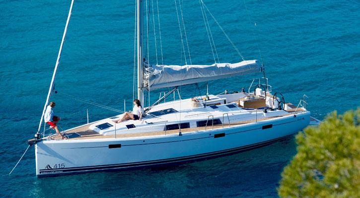 Alquiler Barcos Ibiza | Hanse 415 | Velero en Ibiza 2016 |