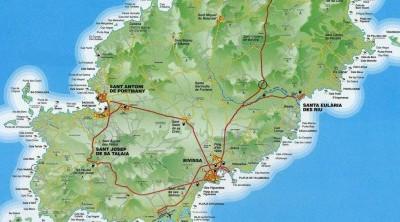 Calas para navegar por Ibiza