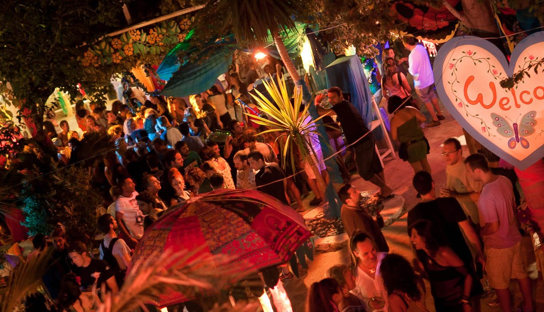 Mercadillo de Las Dalias en Ibiza