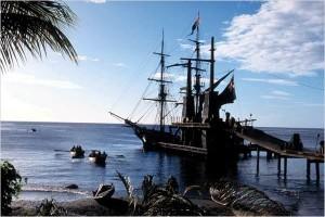 piratas del caribe barco.