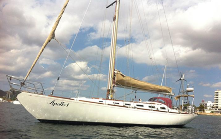 Alquiler de veleros ibiza Swan 51