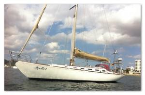 swan 51 alquiler veleros ibiza