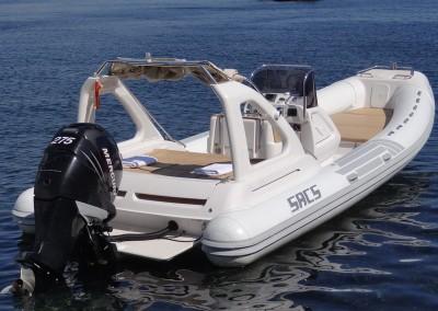 alquiler veleros ibiza Sacs Dream8