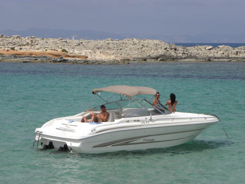 Alquiler de veleros ibiza Sea Ray 280