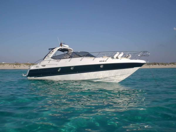 Alquiler barcos Ibiza. Cranchi 41