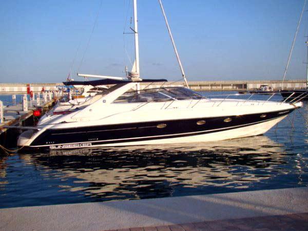 Sunseeker camargue 47. Alquiler barcos Ibiza