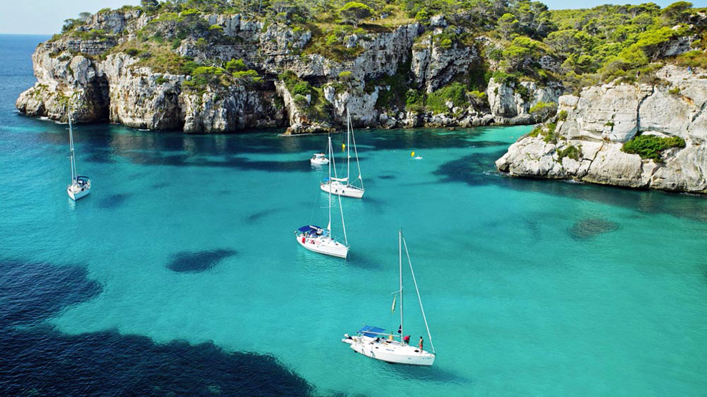 Isla de Menorca | Calas para navegar por Menorca