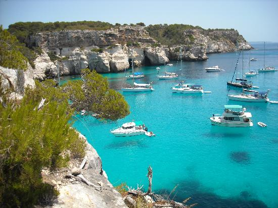MENORCA | Coves for sailing Menorca