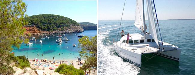 Ibiza te espera, alquiler barcos Ibiza