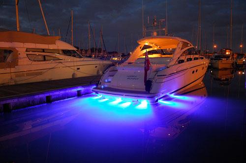 barco iluminado luces sumergibles led jpg