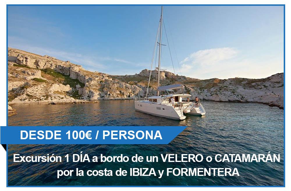 Excursión en barco por Ibiza