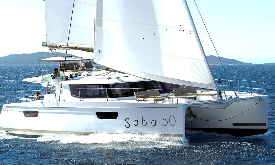 Alquiler de catamaranes Ibiza Saba 50