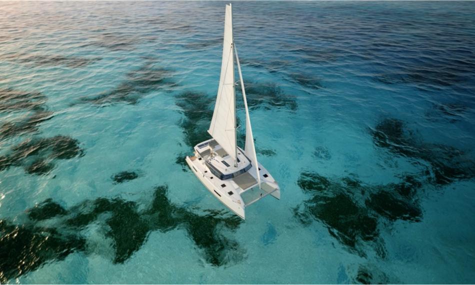 New 47 alquiler de catamaranes Ibiza