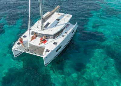 Alquiler catamaran ibiza lucia