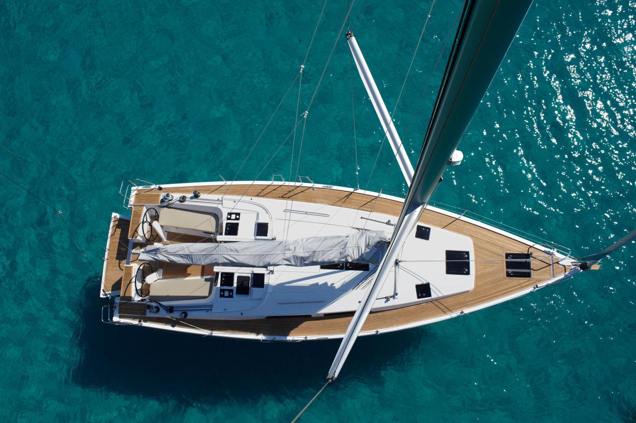Alquiler velero Ibiza hanse