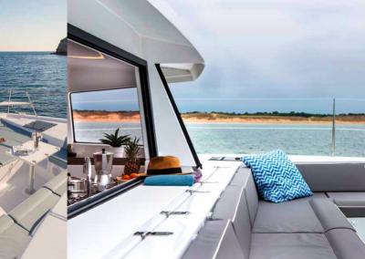 Alquiler catamaranes ibiza Bali 4.3  exterior