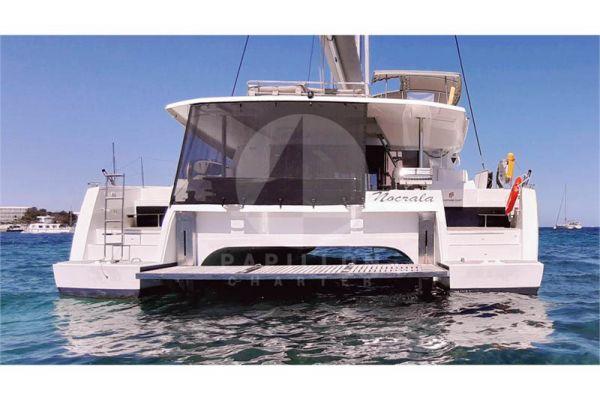 alquiler catamaran saona