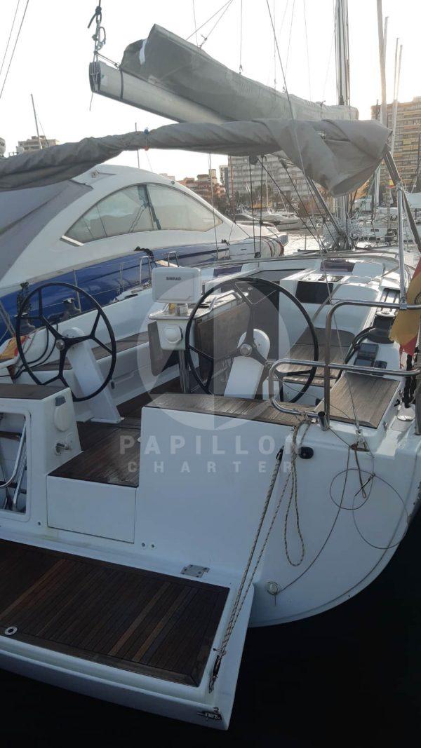 alquiler velero Ibiza hanse 415