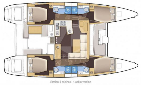 alquiler lagoon 450 layout