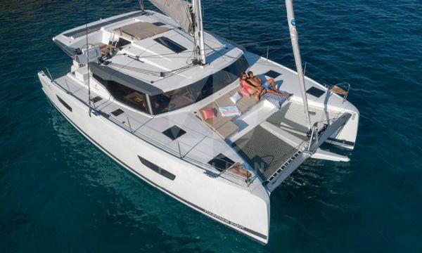 alquiler de catamaran en Ibiza