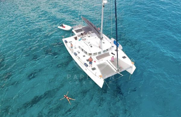 alquiler lagoon 440 Ibiza