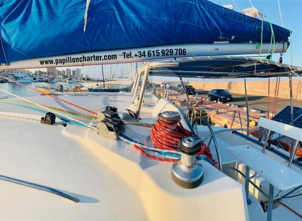 alquiler catamaranes en Ibiza