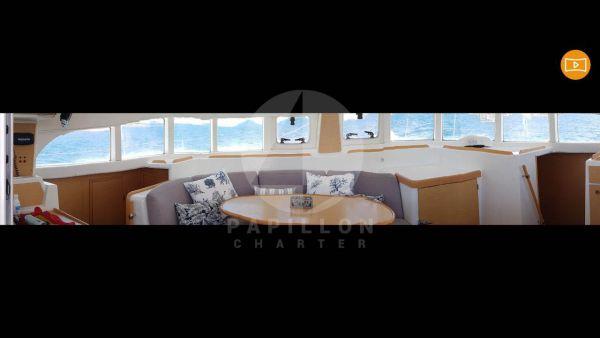 salon lagoon 380 alquiler en ibiza