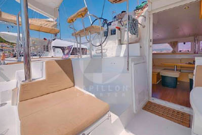 alquiler de catamarán denia lagoon 400