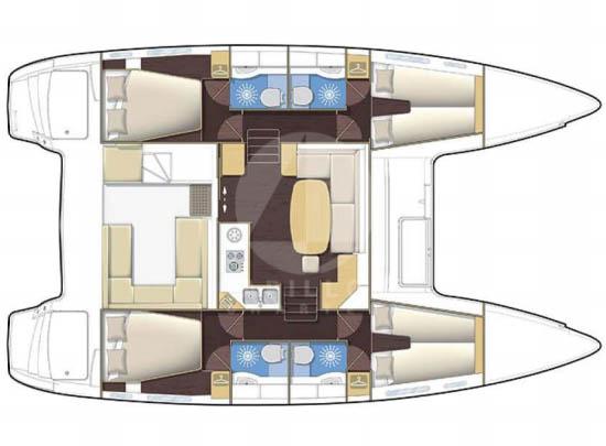 alquiler catamaran denia layout