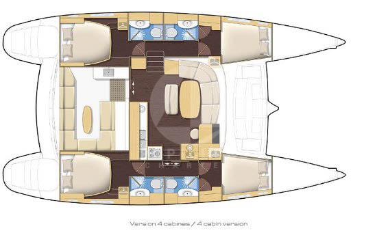 alquiler Lagoon 400 Ibiza
