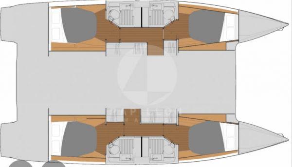 catamaran astrea layout